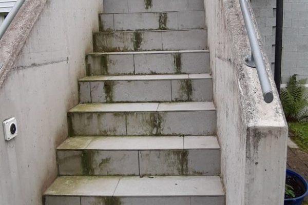Aussen Treppen Reinigung