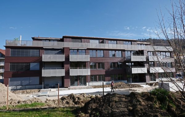3 Mehrfamilienhäuser aus Holz