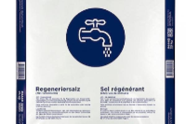 Regeneration von Wasserenthärtungsanlagen
